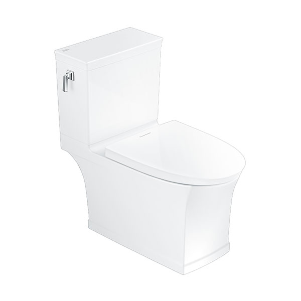 KASTELLO Close Coupled Toilet, P-trap (3/4.5L)