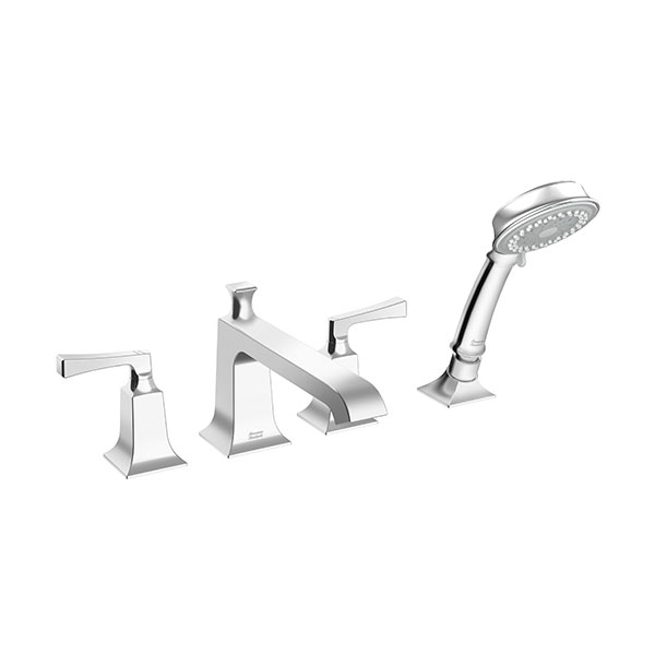 Deck Mount Bath & Shower Mixer with Shower Kit